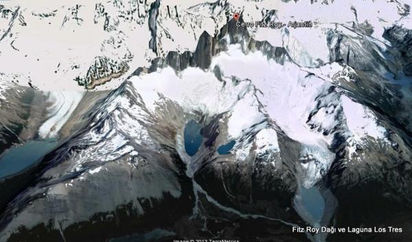 Cerro Fitz Roy/Laguna Los Tres ve Laguna Sucia