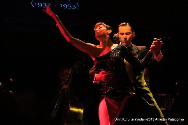 Buenos Aires'te Tango Gecesi