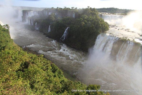 Iguaçu Şelaleleri-Brezilya