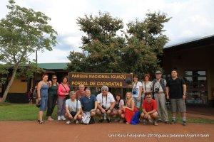 Iguazu/Arjantin Milli Park Girişi