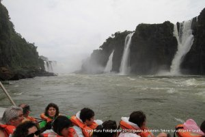 Iguazu'da tekne turu