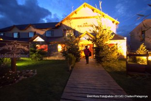 El Chalten kasabasında otel
