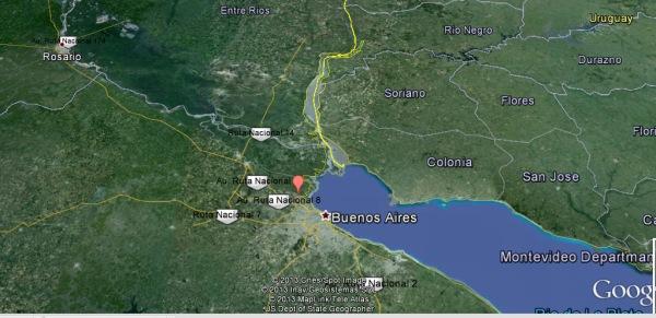Tigre, Buenos Aires eyaleti, Argentina - Google Haritalar - Google Chrome 18.04.2013 002002