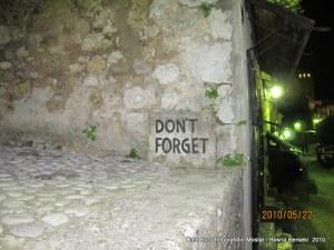 Mostar unutma yazısı (2)