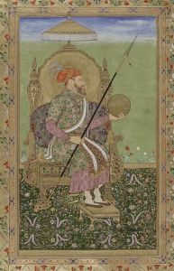 330px-Portrait_of_the_emperor_Shajahan,_enthroned.