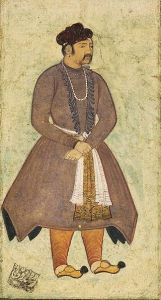 http://en.wikipedia.org/wiki/Akbar#mediaviewer/File:Portrait_of_Akbar_by_Manohar.jpg
