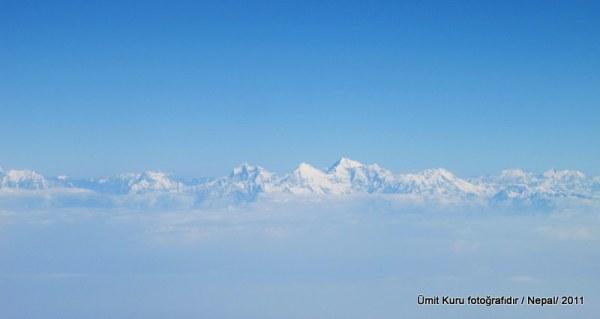 Uçaktan Himalayalar
