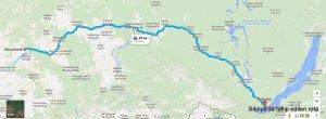 kalkış Novosibirsk, Novosibirsk Oblastı, Rusya varış Listvyanka, İrkutsk Oblastı, Rusya - Google Haritalar - Google Chrome 18.07.2015 121951