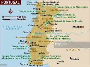 portekız harita