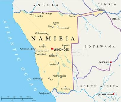 4528546_stock-vector-namibia-political-map